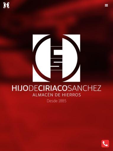 Hierros Ciriaco Sanchez